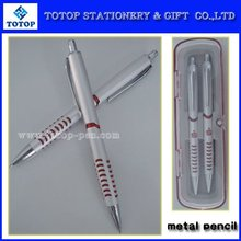 2015 new style and high quality metal pen and pencil set