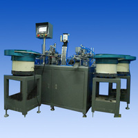 three blades disposable razor head automatic assembly machine