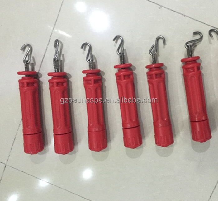 Swimming pool fixing float line plastic tensioner float line hook