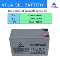 hot sale 12v8ah gel battery 3 years warranty maintenance free