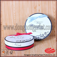Fashion Customized Round Design Custom Packaging Sweet Boxes Wholesale DH2101#