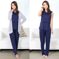 breathable cotton material smooth cute sleepwear for women AK186