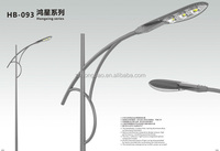 12/24V DC 60w IP65 outdoor solar lamp LED solar led street lighting with intelligent system and solar panel