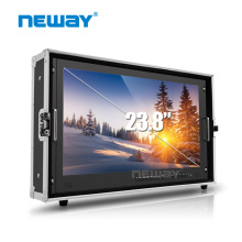 "23.8"" 4K Broadcast Video Monitor with 3G SDI, HDM I, VGA & DVI inputs"