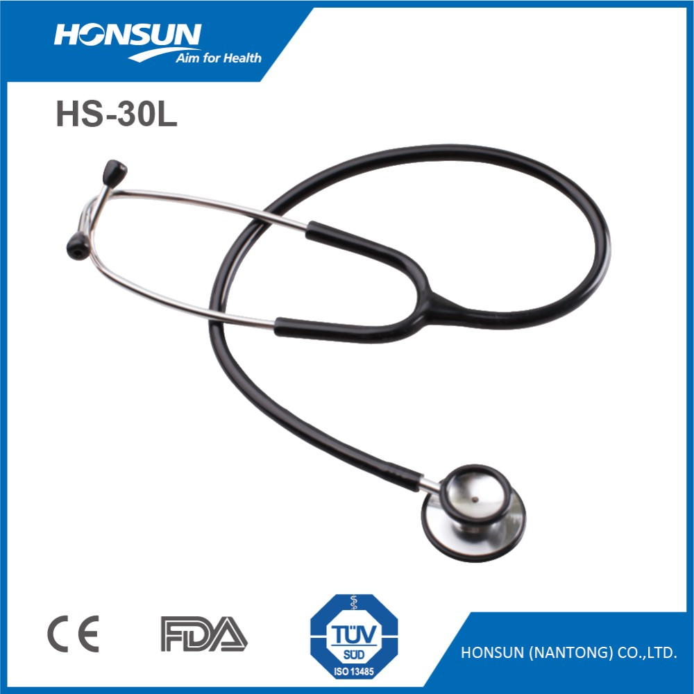HONSUN Deluxe Dual Head Alpk2 Stethoscope Littman HS-30L with Stethoscope ID Tag