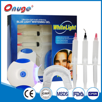 New Led Lamp Light Stain Remover Blue Cold Led Light Teeth Whitening Kit