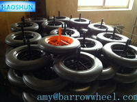 Industrial cart wheel with axle in high quality and hot sale 14x4
