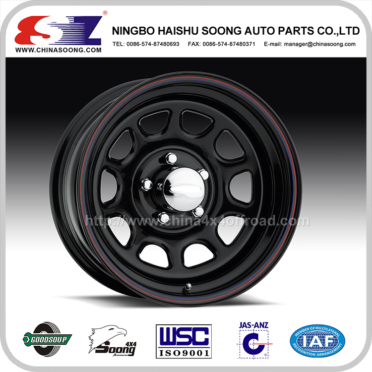 China custom car steel wheels for cars