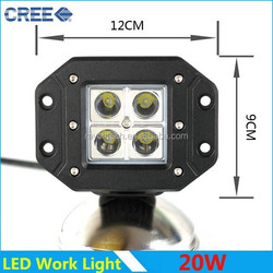 Hotsale high quality New cube 20w led work light,4x4 offroad,auto led lighting led work lamp