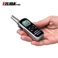 mini fm radio 2-way radio 128 channels 400-520mhz 10 meter walkie talkie