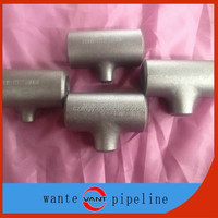 bw pipe fitting reducing tee ansi b16.9 astm a234 wpb