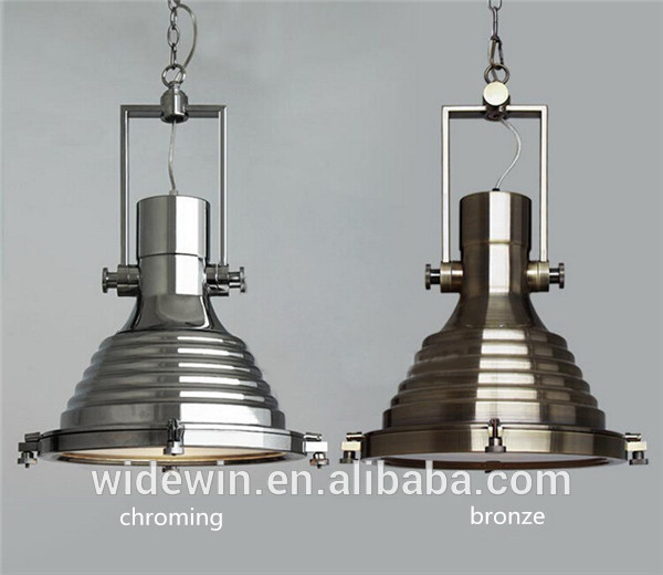 Antique Pendant Lighting Black/chome/bronze Popular Industrial Lamps - Buy In...