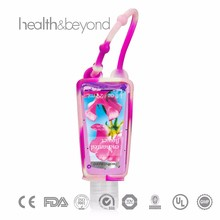 OEM high quality 30ml hand gel sanitizer with holder