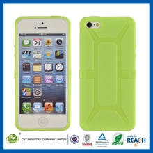 New Crystal Transparent hard soft case for iphone5c cellphone