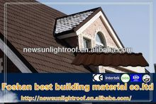 Aluminium Zinc Color Stone Coated Roofing Tile,More Like Clay Roof Tile Price,European Standard
