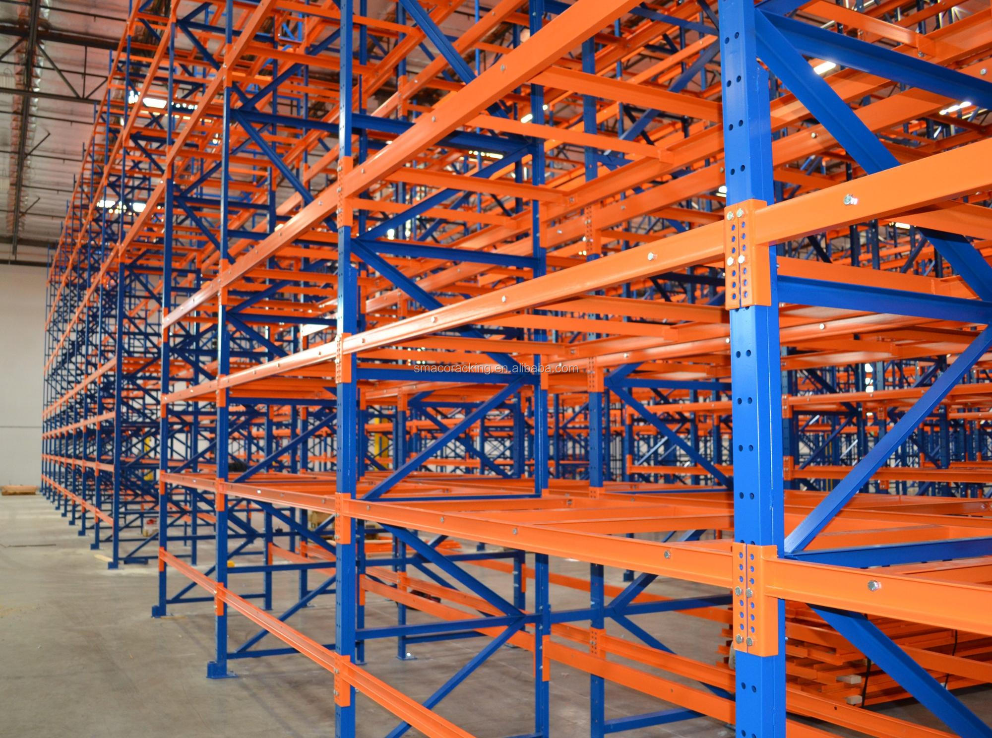 High Tech Heavy Duty Rack Warehouse Shelving Adjustable Storage Racking