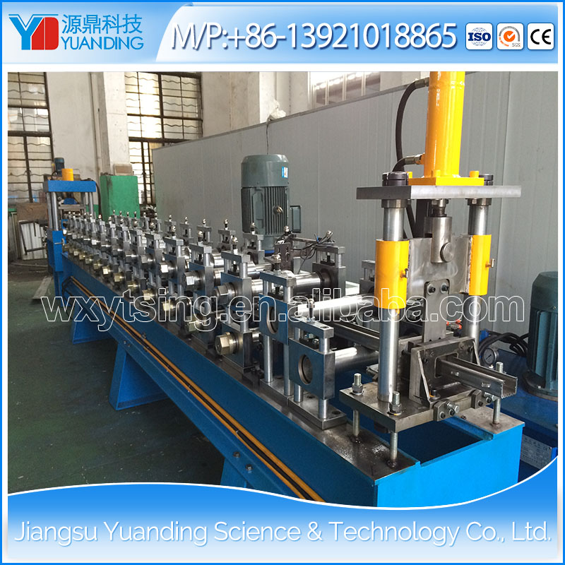 Jiangsu Manufacturer YD-8118 Automatic Metal Rack Roll Forming Machine