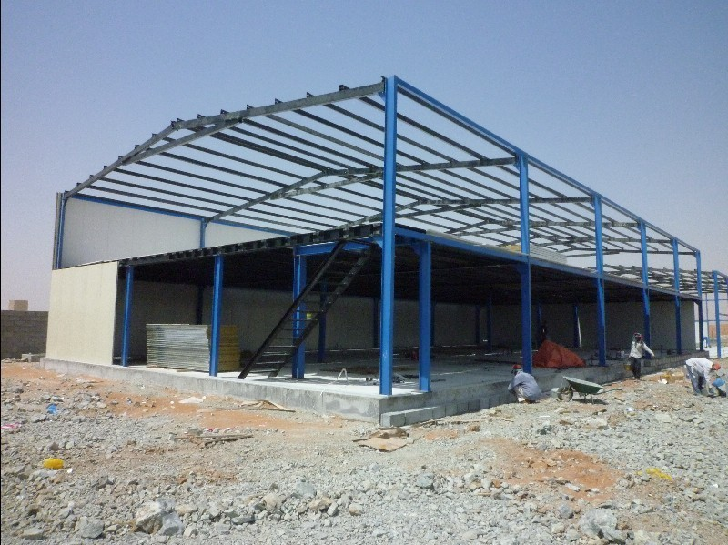 large size structural portable steel warehouse