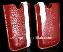Crocodile Leather Case for iPhone4G/4S/Iphone3G