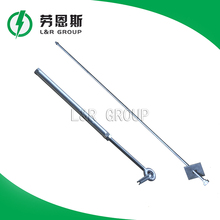 Hot - dip galvanizing stay rod