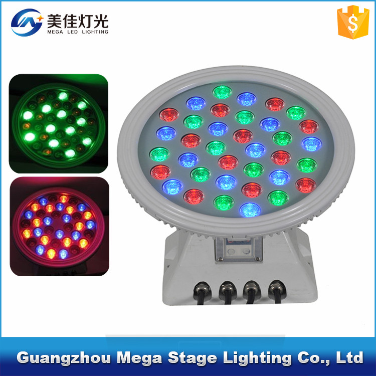 Outdoor waterproof IP65 36pcs RGB multi-color <strong>led</strong> wall washer landscape light