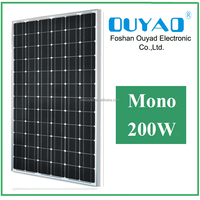 Solar energy solar panel for home 200W mono solar panel price
