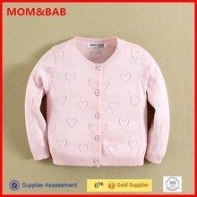 Professional Factory Supply mom and bab Branded Girls Cardigan Guangzhou
