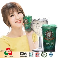 Fruit Flavor Seaweed Jelly Juice Grape Corallines Jelly Low Calories Dieters' Drinks