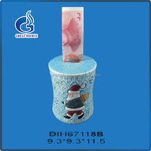 OEM good quality christmas characters piggy bank money box custom made with great price