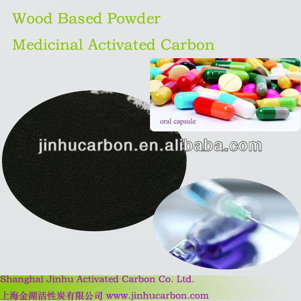 Pharma powder drying activated carbon