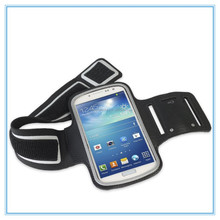 stretchable neoprene sport armband case bag pouch holder with key for Iphone 5/5s/Ipod touch