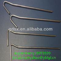 metal hook metal stake in guangdong china through the ISO9001:2008 and ROSH