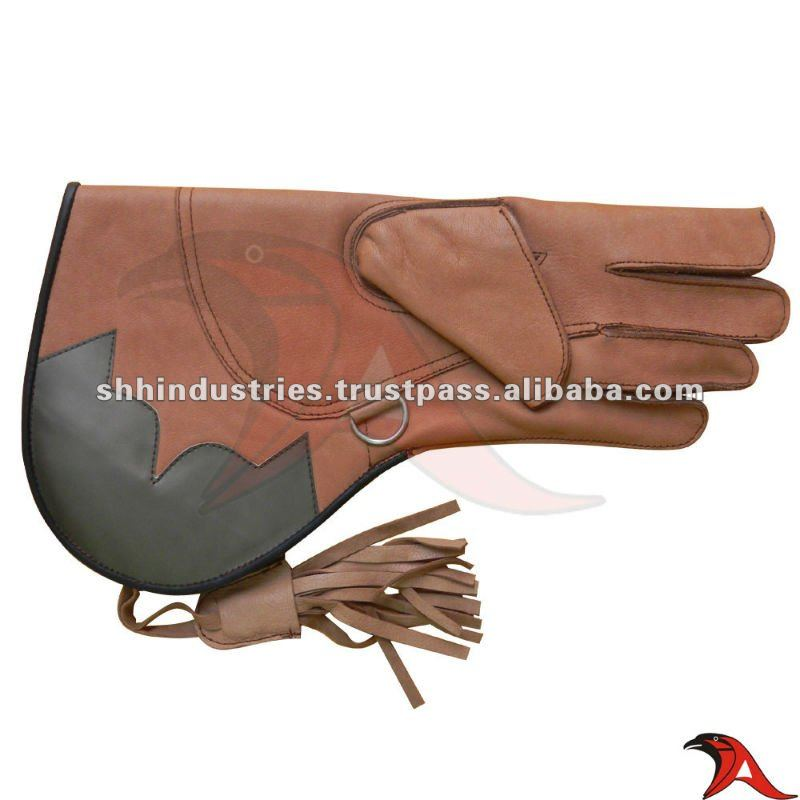 New Cow Hide Leather Falconry Gloves