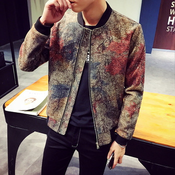 MS70945G Fashion men's colorful spring jackets