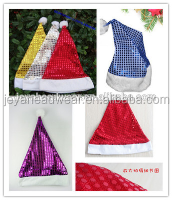 Shining christmas party cap