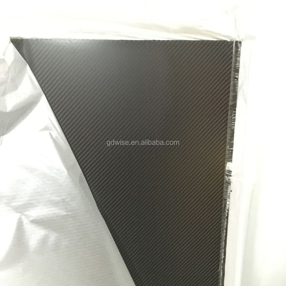 colored CNC machined carbon fiber sheets/plate/board/panel