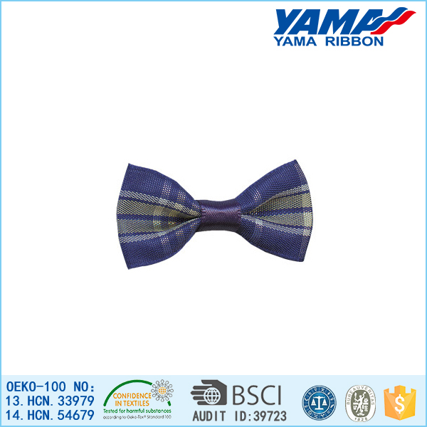 fashion satin ribbon bow tie