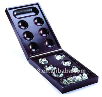 Popular Strategy Foldable Wooden Mancala Board Game