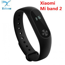 Original Xiaomi Mi Band 2 Smart Bracelet Fitness Tracker OLED Screen Heart Rate Monitor Mi Band 2 Clock Smart Wristband in stock