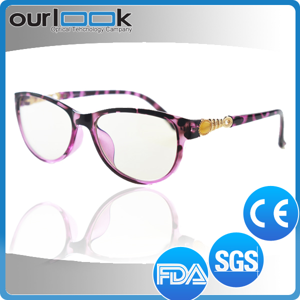 Custom Selling New Design Reading Style Clip-on Glasses