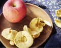 healthy freeze dried apple slices