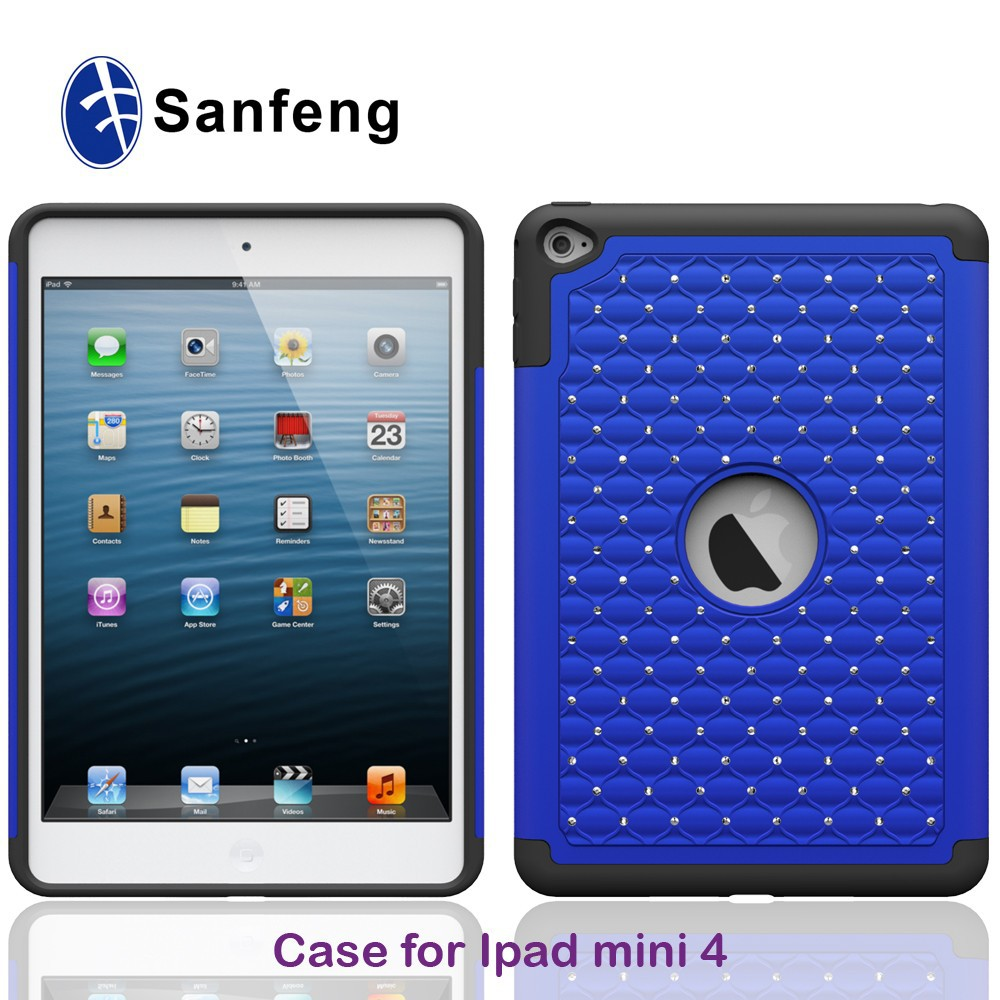 Hand phone shockproof case for <strong>ipad</strong>,for <strong>ipad</strong> min/2/3/4 cover,for <strong>ipad</strong> mini 4 case