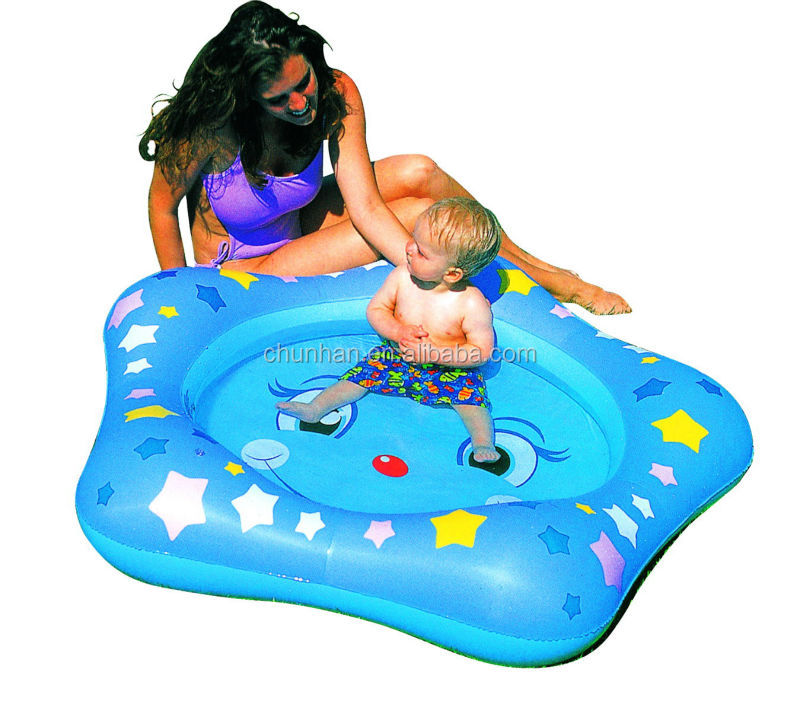 inflatable star kiddie pool