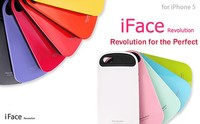 Premium good feeling iface revolution case silicone cover for iPhone 5 / 5c / 5s / se Wholesale OEM