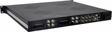 (DMB-9004CIA) Cable Digital TV Headend IP+ASI Output 4 channels Encrypted MPTS SPTS DVB-C Headend Receiver with 4* CI Slot