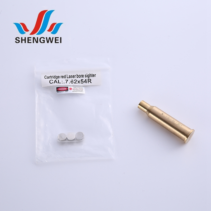 Factory price 7.62x54 red dot laser bore sight for shooting training