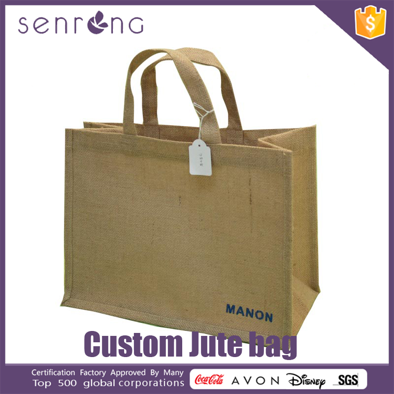 Hessian Jute Bags Natural Jute Tote Bag