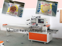 cake packing machine flow wrapper with nitrogen fiiling