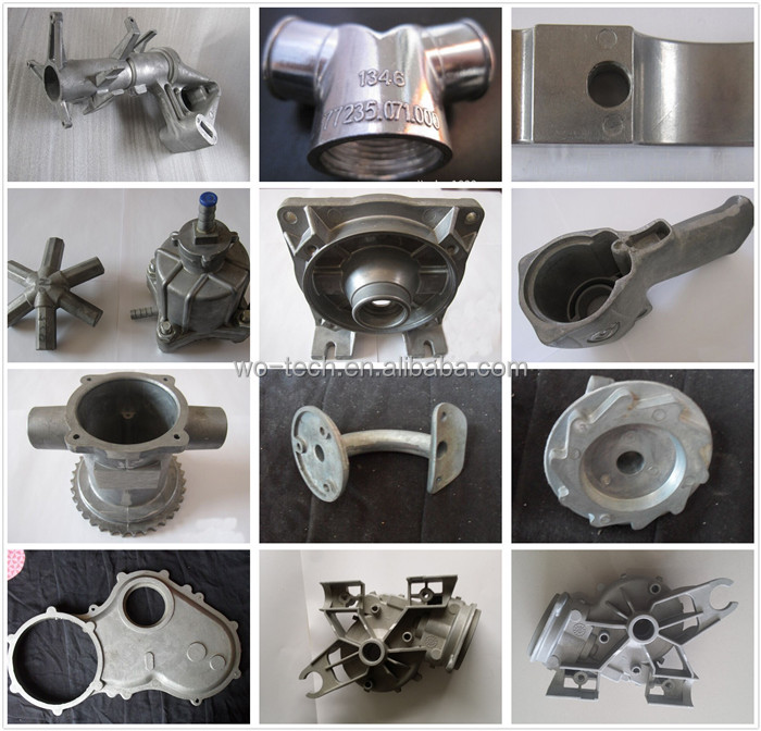 Thin thickness aluminum casting parts