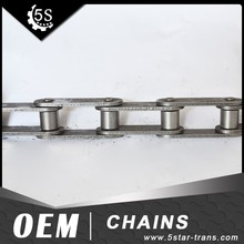 C2062 Double pitch 38.1 stainless steel roller chain and chain components